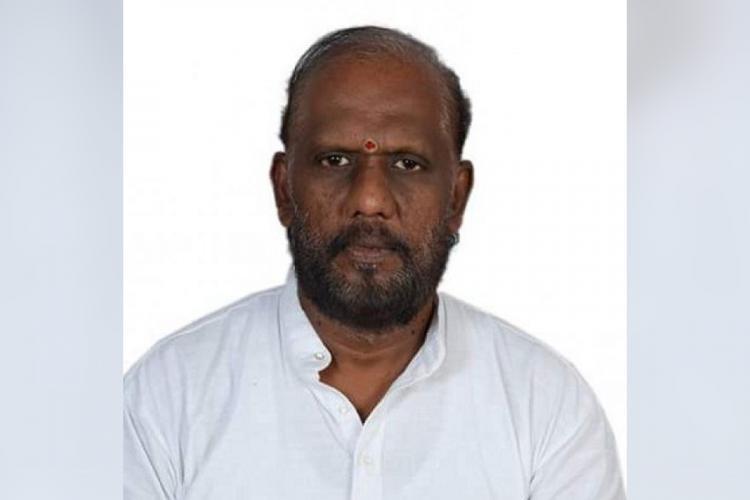 An image of late lyricist Piraisoodan