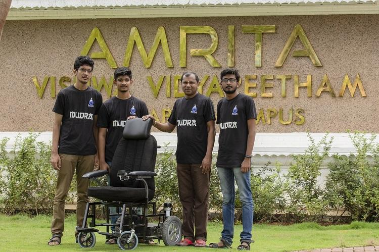 Kerala students develop low-cost self-driving wheelchair with Robotic OS