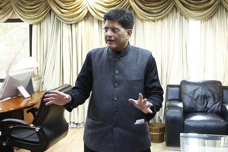 FM Piyush Goyal favours currency printing as a way of deficit financing