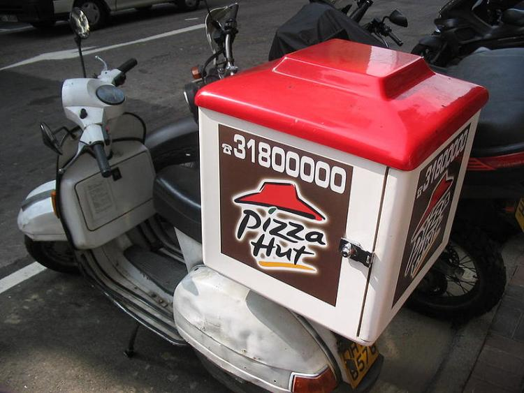 Now the government is going to regulate pizza delivery bikes
