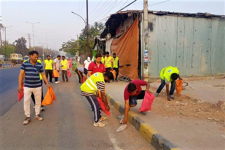 Want a clean Hyderabad Go plogging and pick up litter as you walk run or jog