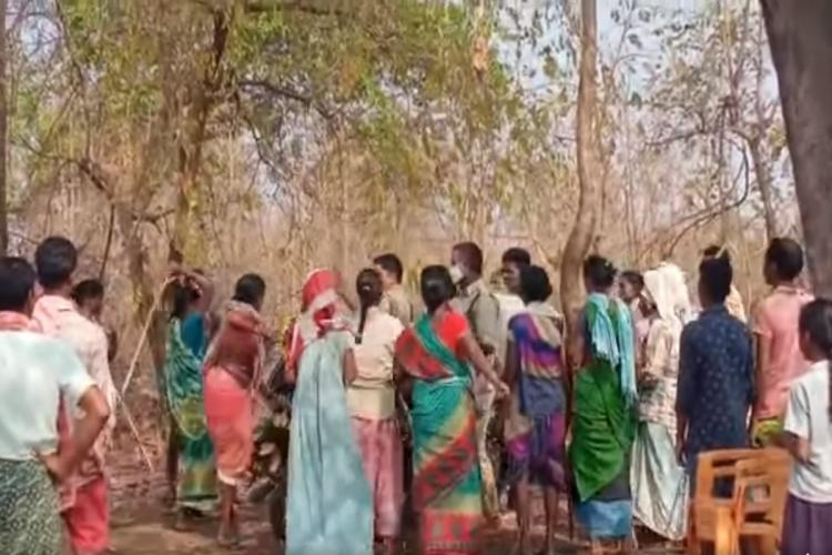 Three Telangana Forest Department officials attacked during afforestation drive