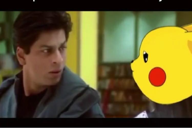When Shah Rukh found his Pikachu Memes give Pokemon Go a desi twist