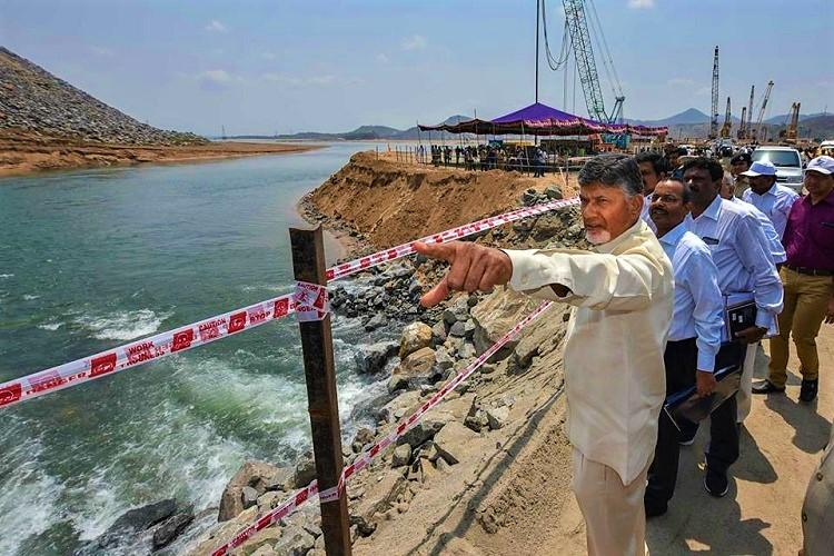 Centre to blame for delay in Polavaram project must release funds Andhra CM Naidu
