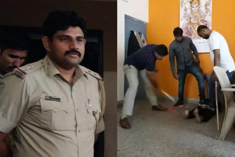 Video of Bengaluru cops assaulting suspect with hockey stick surfaces
