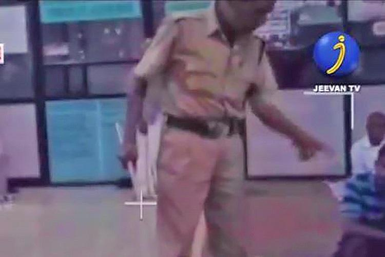 Horrific video of Kerala security guard caning passengers at bus terminal surfaces case filed