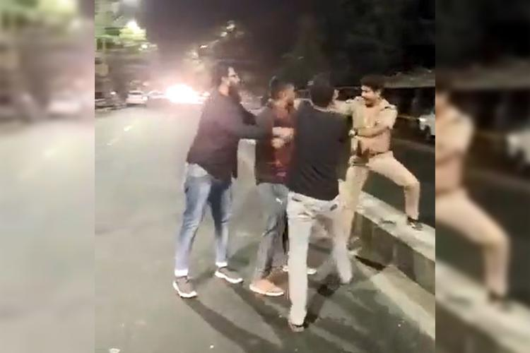 Chennai police arrest four for brutally attacking cop on duty