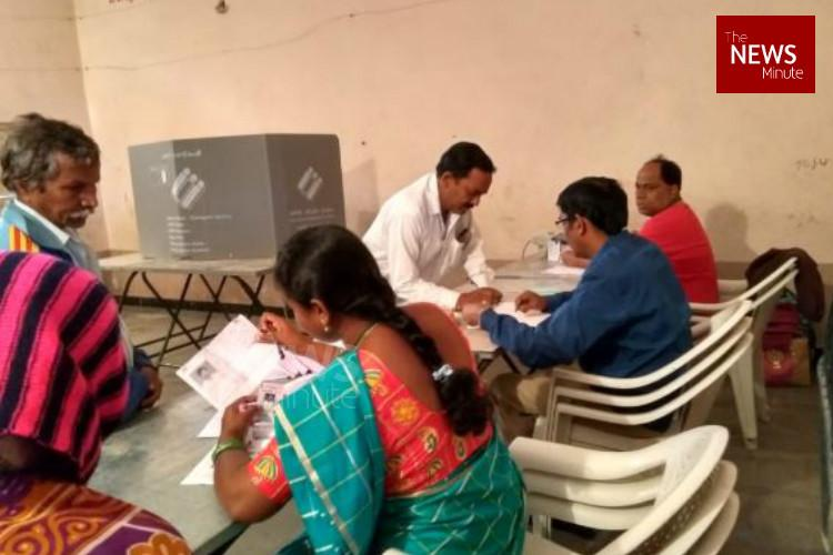 Telangana election Around 70 voter turnout in state as polling ends