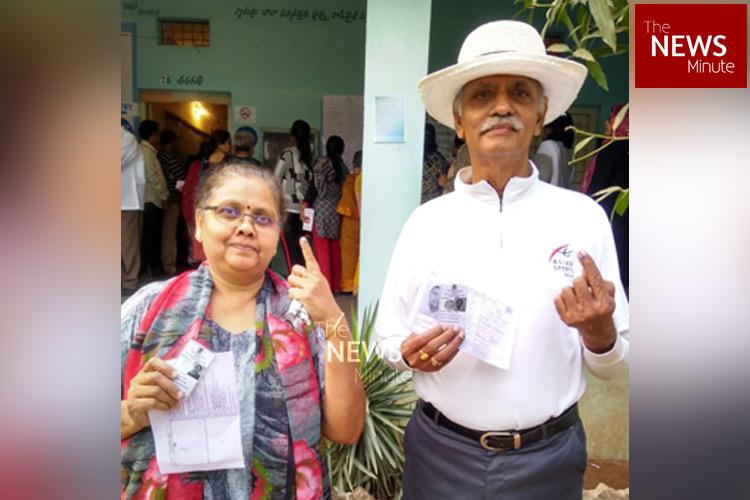 Telangana polls Over 10 per cent voting recorded till 10 am