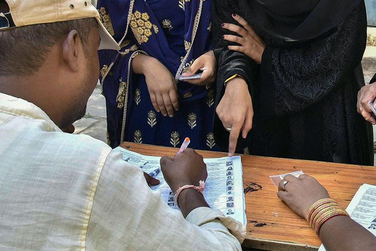 250 Villupuram voters find their names missing from list EC passes the buck