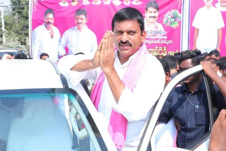 Rs 60 cr unaccounted income unearthed from TRS MP Srinivasa Reddys firm I-T Dept