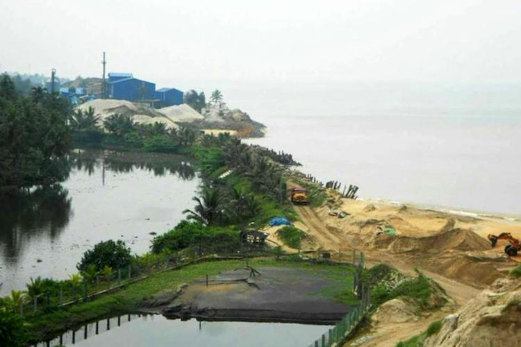 Villages vanish in Keralas Kollam coast as they succumb to sand mining
