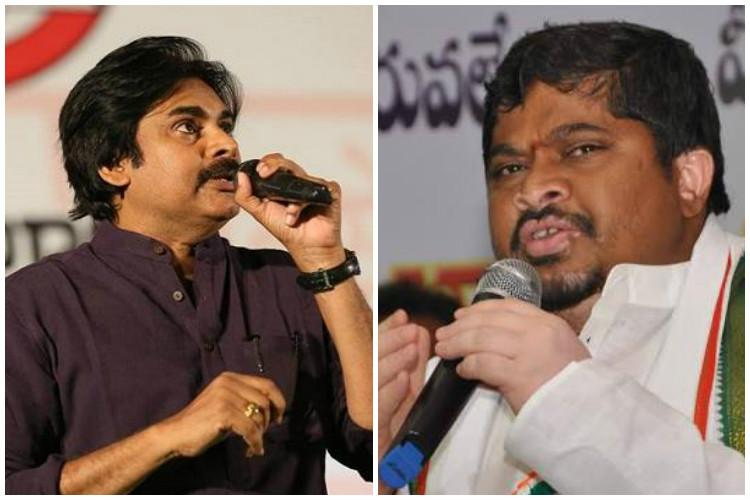 Pawan took kickbacks from KCR to divert attention of youth claims Telangana Congress