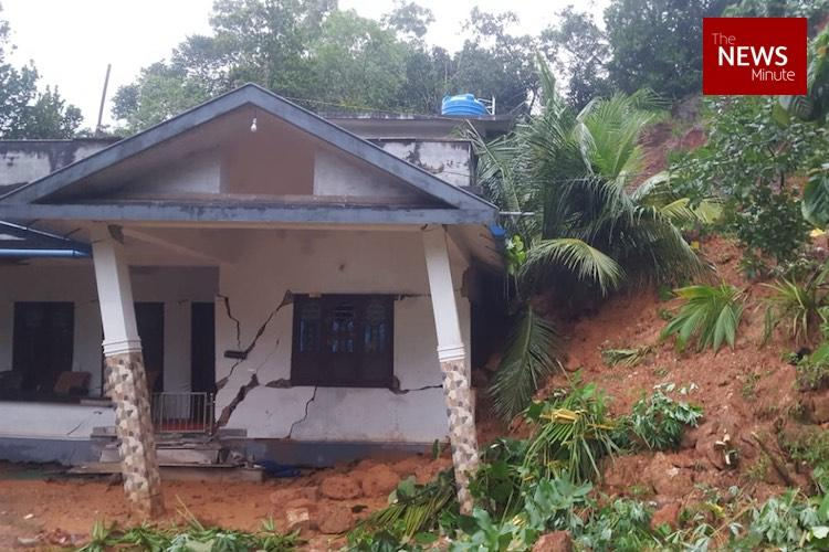 Kerala rains ground report Poochal residents start to leave after family buried alive