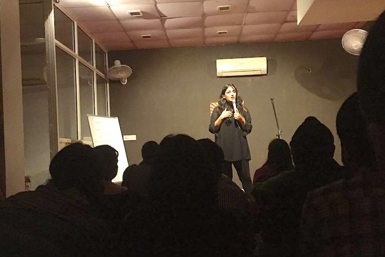 How a Bengaluru girls passion for stand up comedy led to Delhis women only comic room