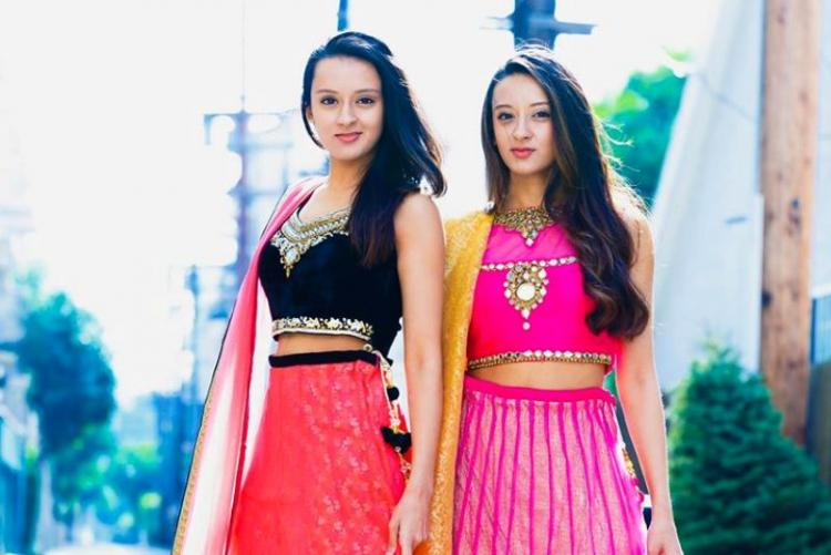 Watch twins perform superb fusion of Robotic and Bharatnatyam dance
