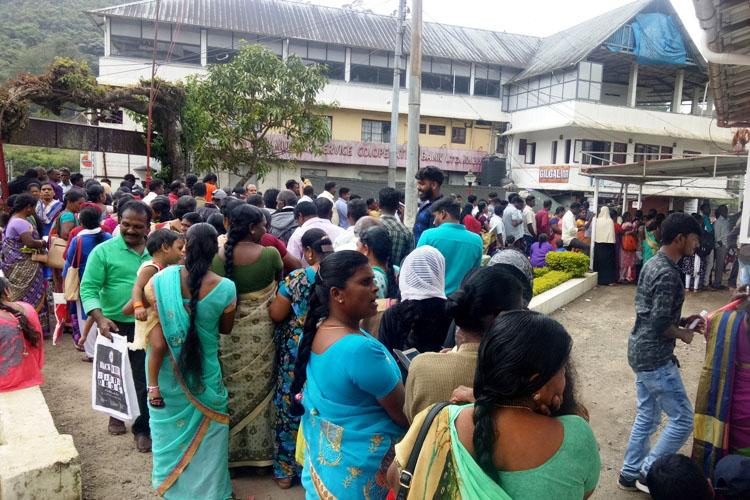 People in Munnar rush to open postal accounts over fake news on Centre giving Rs 15 lakh