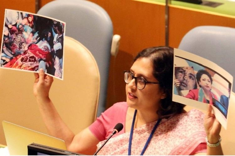 India exposes Pakistans use of fake photo at UN shows true image of Pak-backed terror