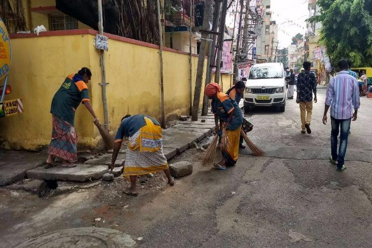 Contractor hit me hurled casteist abuses when I asked for salary Bluru civic worker