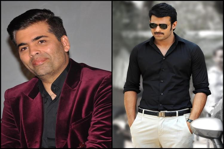 Prabhas to team up with Karan Johar next