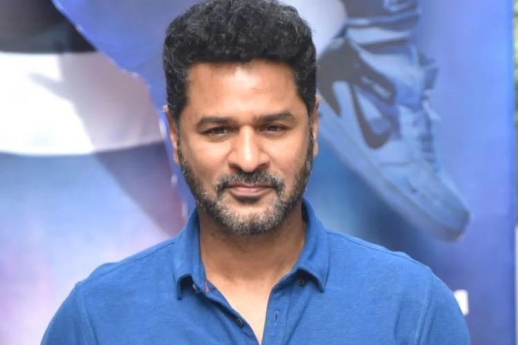 Actor Prabhu Deva dressed in a blue collared t-shirt looking straight ahead with a slight smile