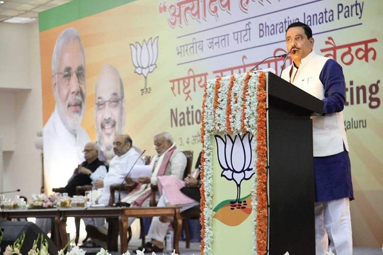 Ktaka BJP MP Prahlad Joshi booked for alleged communal statement in election speech