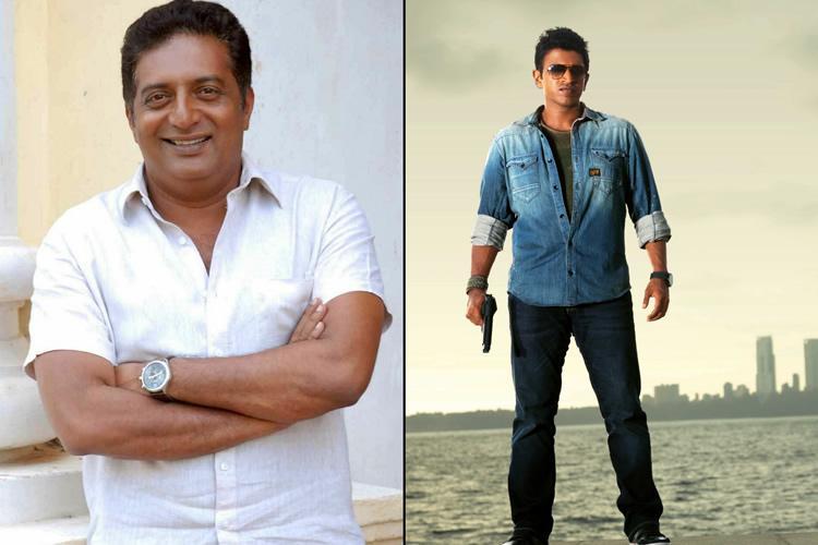 Prakash Raj joins Puneeth Rajkumars Yuva Ratna