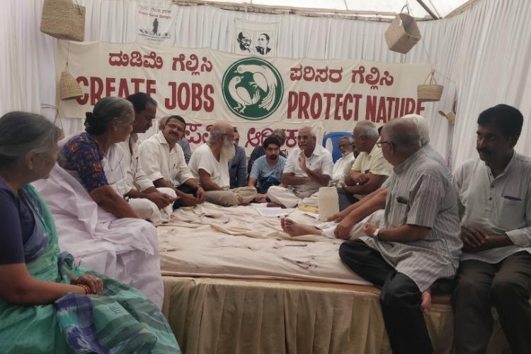 Karnataka activist calls off hunger strike after Union Min Sadananda Gowda intervenes