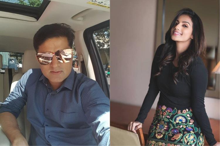 Sruthi Hariharan files police complaint on Prashanth Sambargi Arjuns media manager