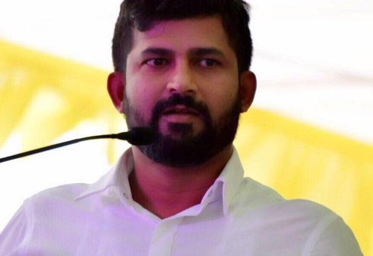 Activists Belonging To The Janata Dal Secular Staged A Protest In Belagavi On Wednesday Against Pratap Simha Bjp Mp From Mysuru For Alleged Abusive
