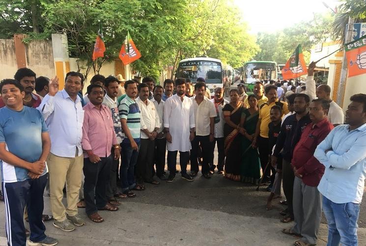 BJPs call for voluntary bandh in Karnataka sees meek response
