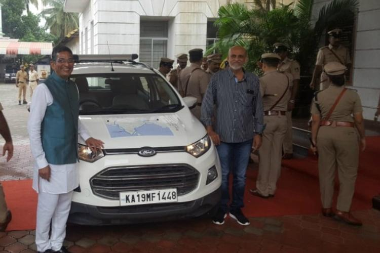 To document state of roads this Mangaluru duo in their 50s will drive 16000 km