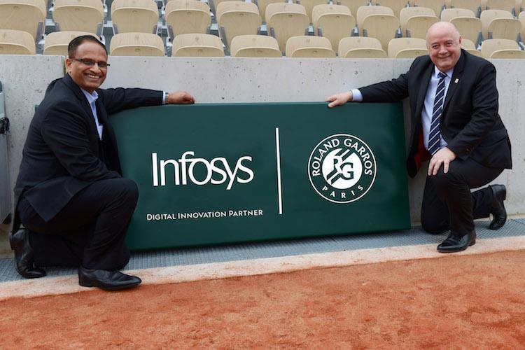 Infosys announces 3-yr technology partnership with Roland Garros on digital innovation