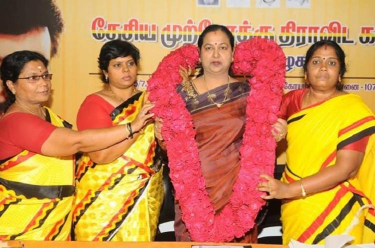 How Premalatha has become the de facto leader of the DMDK