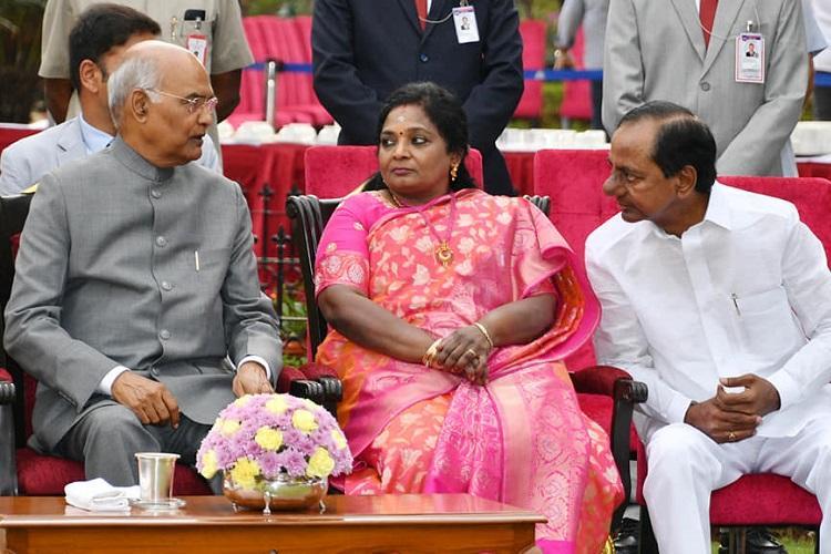 President hosts At Home at Rashtrapati Nilayam in Hyderabad