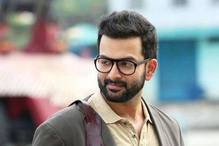 Prithviraj in glasses