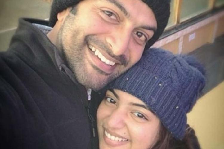 Prithviraj wishes baby sister Nazriya for her birthday