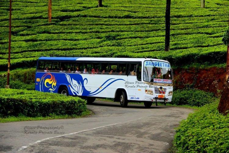 Scores of private buses halt services in Kerala due to rising fuel prices