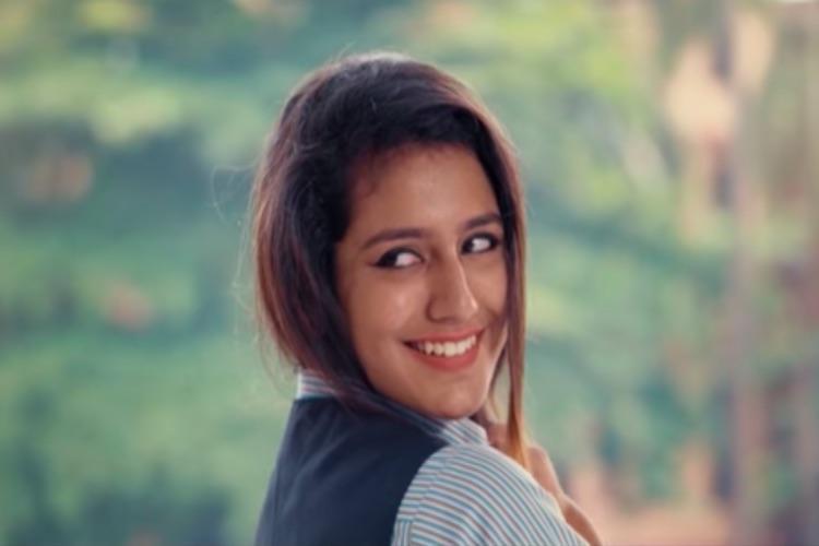 Wink sensation Priya Warrier back with song teaser from Oru Adaar Love