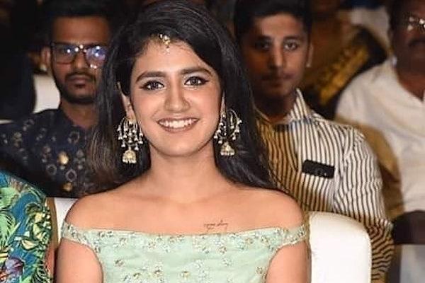 Priya Prakash Varrier turns singer croons song for upcoming sports drama