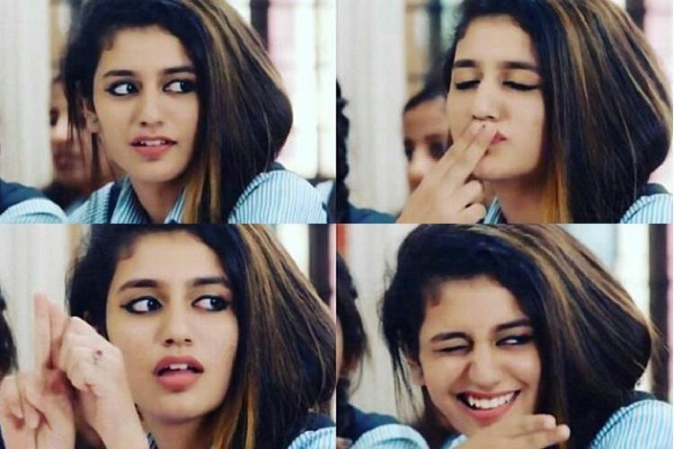 After winking Priya Prakash Varrier shoots a kiss in Oru Adaar Love teaser