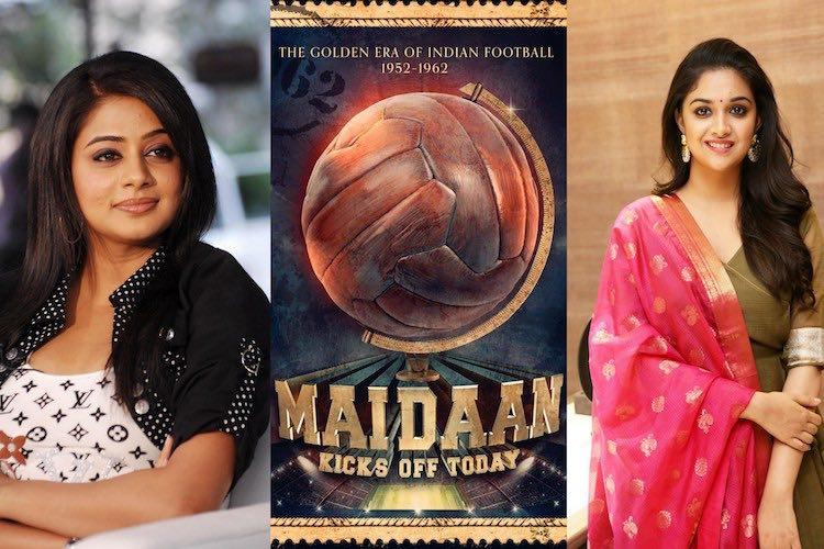Priyamani replaces Keerthy Suresh in Maidaan