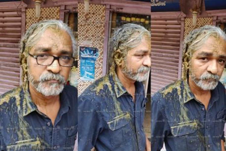 Director Priyanandan attacked with cow dung following FB post on Sabarimala