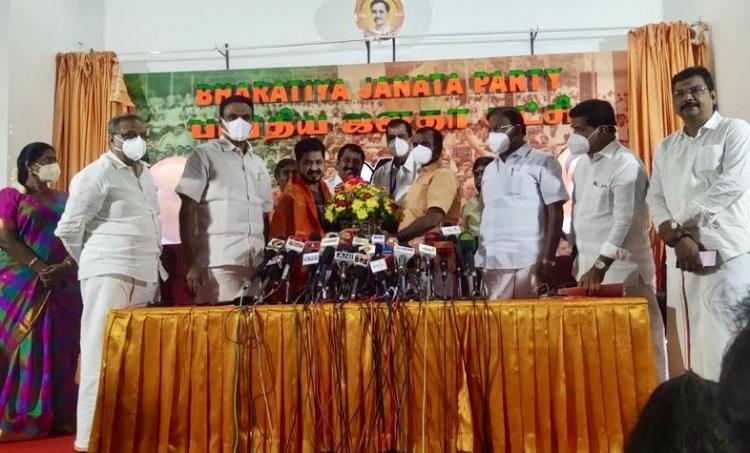 Producer Kotapadi Rajesh joins BJP