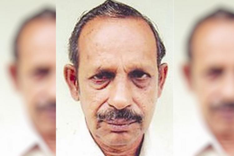 A close up picture of Professor S Sitaraman in a white shirt