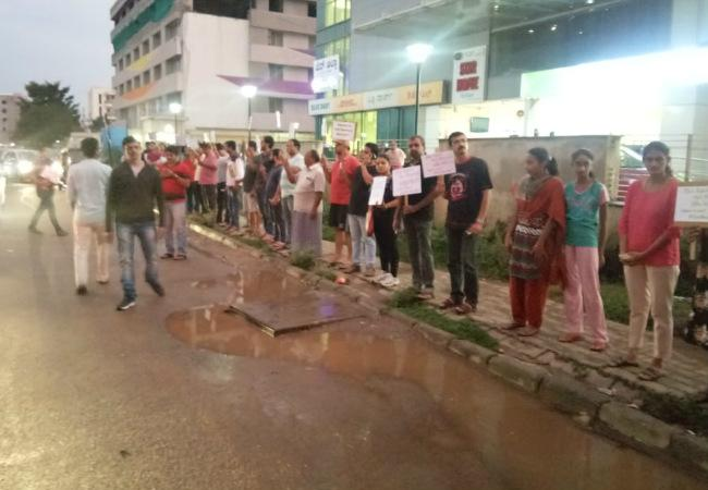 12-year-old Bengaluru boy killed after water tanker runs over him Residents protest