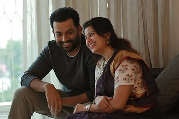 Between cinema and life Supriya speaks on turning producer with Prithviraj