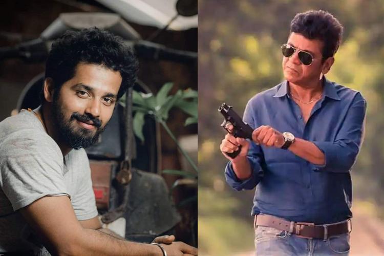 A collage of actors Pruthvi Ambaar and Shiva Rajkumar