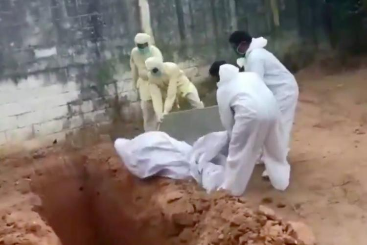 Puducherry COVID-19 death video 3 workers suspended by state government