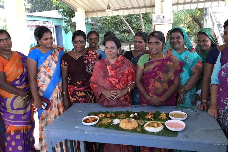 Fisherwomen from a Tamil Nadu town use food to fight Adanis port expansion